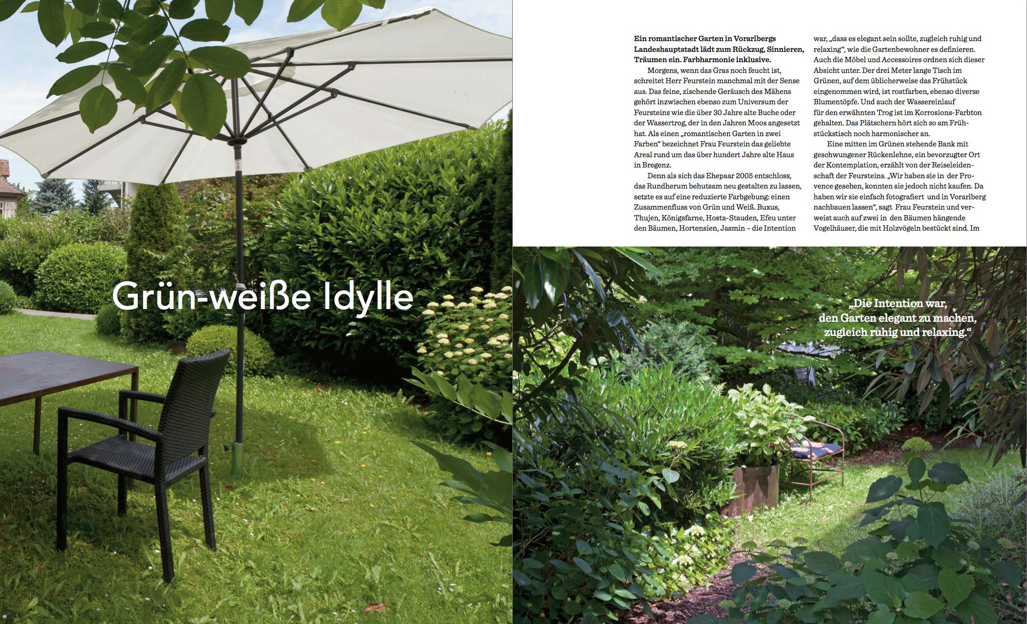 Garten Design – Gestaltungsideen für das Wohnen im Freien